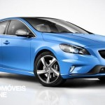 New Volvo V40 R-Design 2013 quarter rigth front view