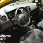 New renault clio RS 200 EDC 200cv interior view