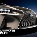 Newconcept Lexus LF-CC IS Coupé front nose view