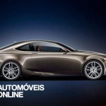 Newconcept Lexus LF-CC IS Coupé profile view