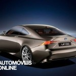 Newconcept Lexus LF-CC IS Coupé quarter rear view