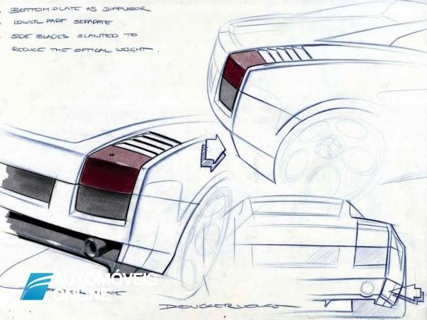 Os primeiros traços do substituto do Lamborghini Gallardo