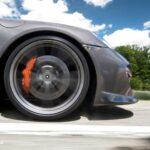 Porsche 911 Carrera S Gemballa tyre view