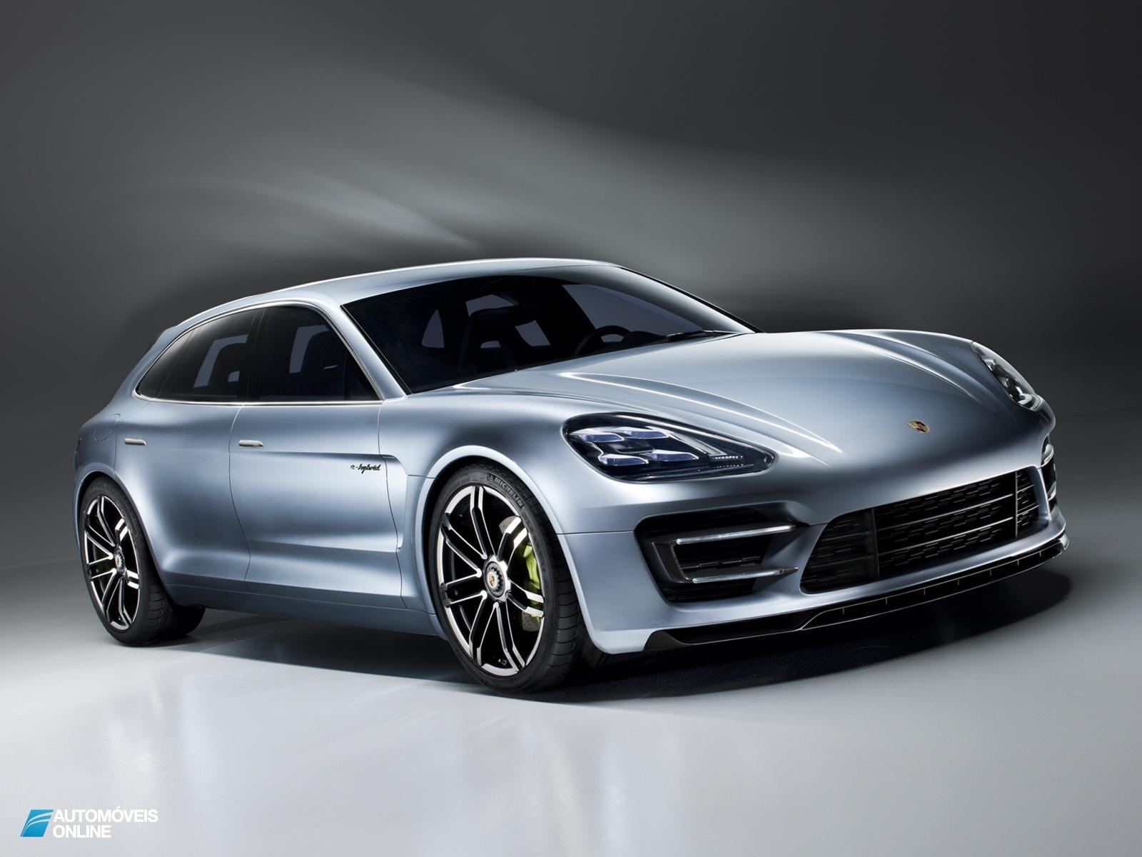 Porsche revela o Panamera Sport Turismo Concept 2012
