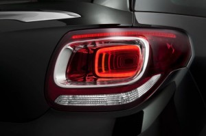 Presentation new Citroen DS3 Cabrio 2013 back led light