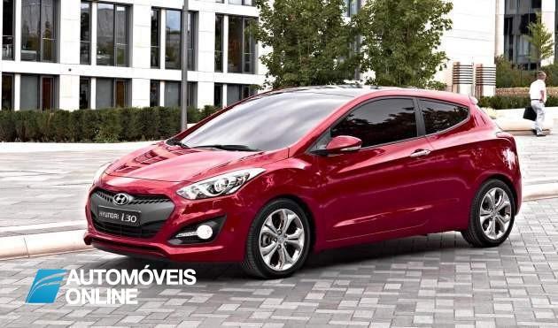 Primeiras imagens do novo Hyundai i30 2013