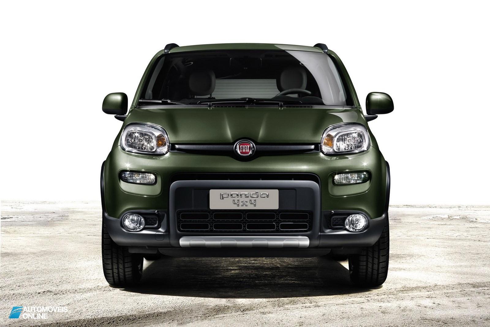 Revelado! No Fiat Panda 4x4 Crossover 2013
