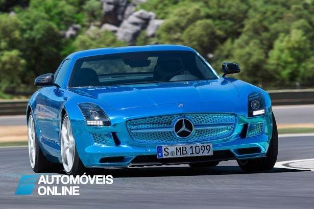 Show! Mercedes apresenta o SLS AMG Coupé Electric Drive
