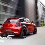 Smart ForStars Concept-Car rear quarter view