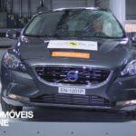Teste Euro NCAP 2013 Volvo V40 embate