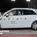 Testes Euro NCAP 2013 Audi A3 embate frente
