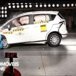 Testes Euro NCAP 2013 Ford B-Max embate frontal
