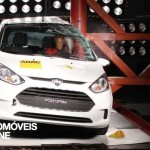 Testes Euro NCAP 2013 Ford B-Max embate lateral
