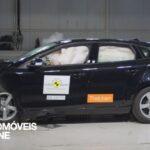Testes Euro NCAP 2013 Volvo V40 embate frente