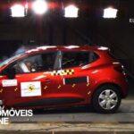 Testes Euro NCAP 2013Renault clio embate frente