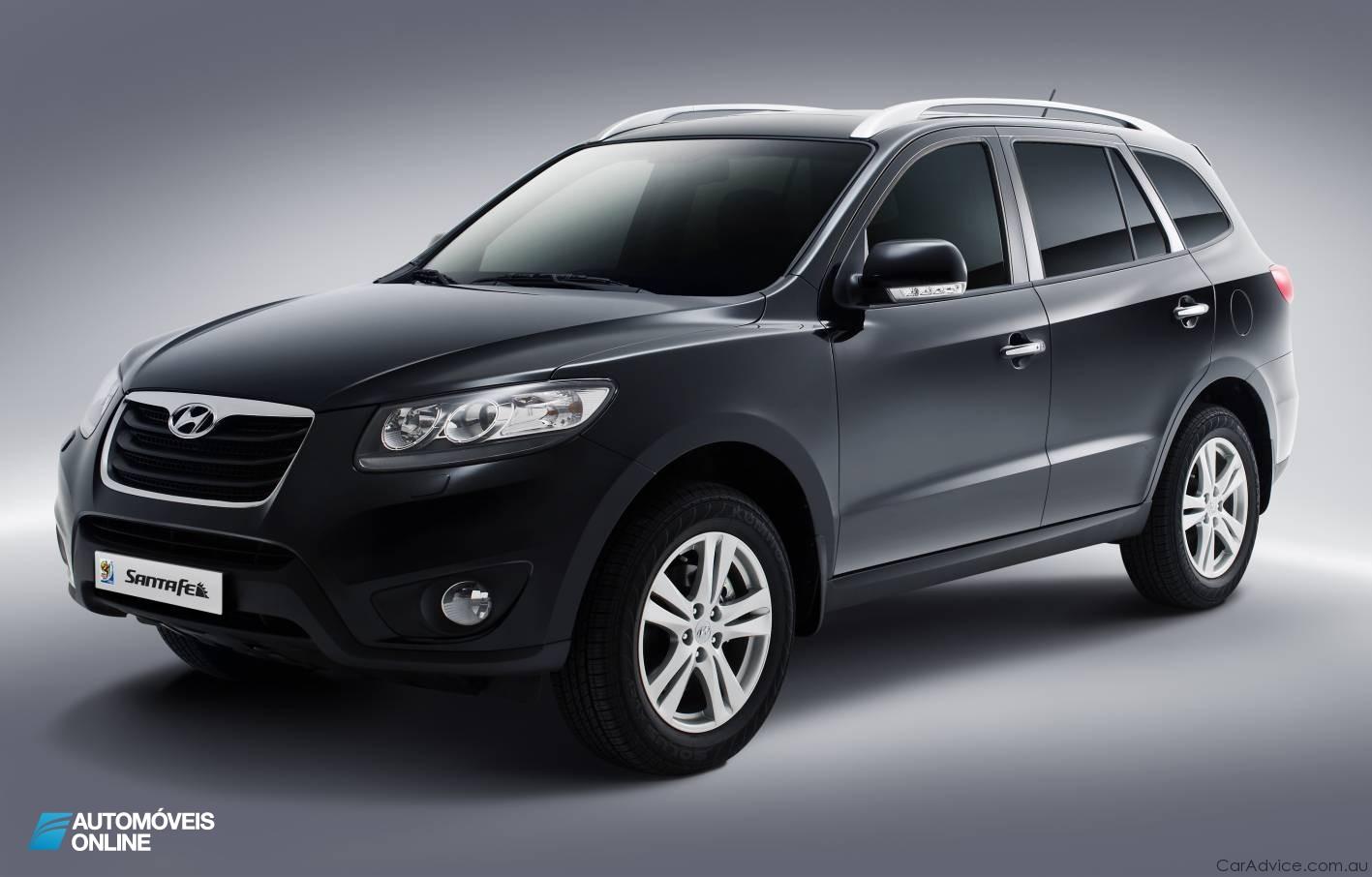 Vídeos! Novo e lindíssimo Hyundai Santa Fé