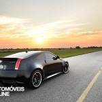 hennessey turns cts v into 1200 hp twin turbo monster rear quarter view