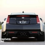 hennessey turns cts v into 1200 hp twin turbo monster rear view