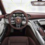 new Porsche Panamera Sport Turismo Concept 2012 híbrid interior front view