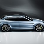 new Porsche Panamera Sport Turismo Concept 2012 híbrid interior right front view