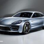 new Porsche Panamera Sport Turismo Concept 2012 híbrid quarte left front view