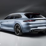 new Porsche Panamera Sport Turismo Concept 2012 híbrid quarte left rear view