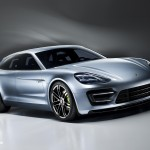 new Porsche Panamera Sport Turismo Concept 2012 híbrid quarte right front view