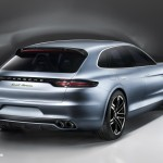 new Porsche Panamera Sport Turismo Concept 2012 híbrid quarter right rear view