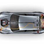 new Porsche Panamera Sport Turismo Concept 2012 híbrid sistem view