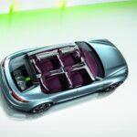 new Porsche Panamera Sport Turismo Concept 2012 híbrid top interior view