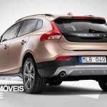 new Volvo V40 Cross Country 2013 rear view