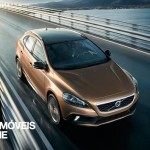 new Volvo V40 Cross Country 2013 top view