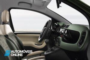 novo Fiat Panda 4x4 crossover 2013 interior