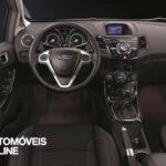 restyling Ford Fiesta Ecoboost vista de interior 2013