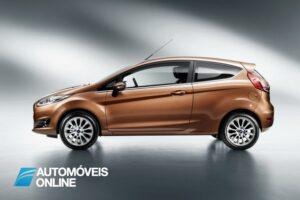 restyling Ford Fiesta Ecoboost vista de perfil 2013