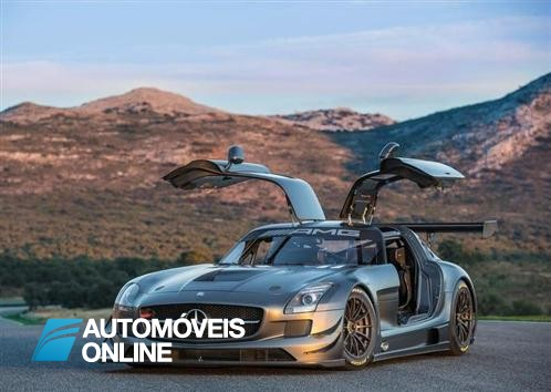 Ainda mais Poderoso! Mercedes SLS AMG GT3 45th Anniversary
