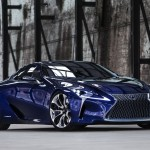 Do outro mundo! Lexus LF-LC Concept Blue