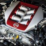 Exclusive car Usain Bolt Nissan GT engine view