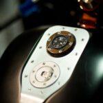 Harley-Davidson Nascafe Racer gas tambor view
