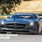 New Mercedes SLS AMG GT3 45th Anniversary front view