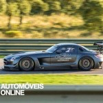New Mercedes SLS AMG GT3 45th Anniversary left view