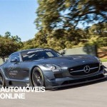 New Mercedes SLS AMG GT3 45th Anniversary profile right view