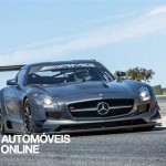 New Mercedes SLS AMG GT3 45th Anniversary right  front t view