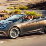 New Opel Cascada Cabriolet Profile Left Side View