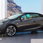 New Opel Cascada Cabriolet Profile Left Side close View