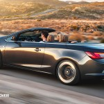 New Opel Cascada Cabriolet Profile rear Left Side View