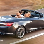 New Opel Cascada Cabriolet Profile rear right Side View