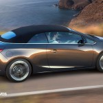 New Opel Cascada Cabriolet Profile right Side View