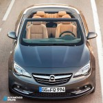New Opel Cascada Cabriolet front open View