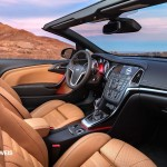 New Opel Cascada Cabriolet interior right Side View